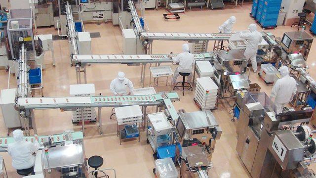 工場・流れ作業