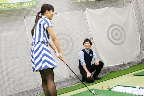 ゴルフ ステップ 「ステップゴルフ・習い放題のインドアゴルフスクール・初心でも安心・定額制」