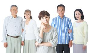 負担、高齢化社会